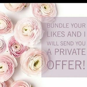 Bundle your likes and i will send private offer.